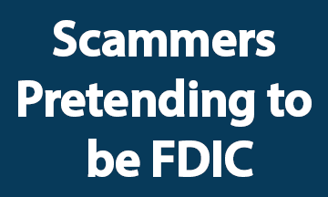 FDIC scammers Blue