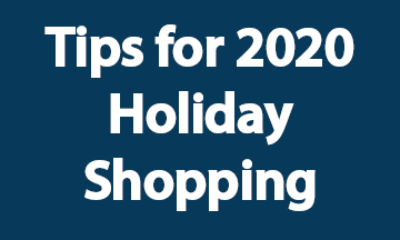 Tips for 2020 Holiday Shopping blue