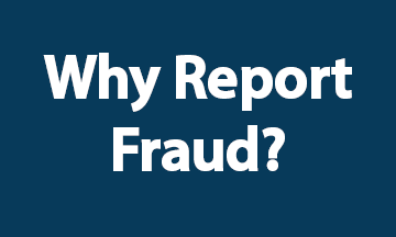 Why Report Fraud Blue
